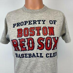 Starter Boston Red Sox Baseball Club Single Stitch T Shirt Vtg 80s MLB USA M