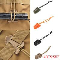 mini - outils molle boucle sac à dos mousqueton des hameçons organiser.