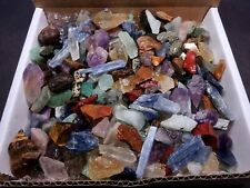 Crafters Collection Small Stones 1 Lb+ Mix Natural Gems Crystals Minerals
