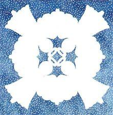 Rhode Island Avenue Quilt Works ANGEL Fusible Applique Template & Instructions