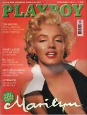 PLAYBOY 1994/12 [Dezember 94] * Iris Kaufmann * Marilyn Monroe mit Poster * TOP
