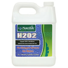 Nutrilife H2O2 Liquid 29% Oxidizer Oxygen Source for Water Gardening 1 Quart