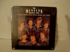 DONNIE AND MARIE THE OSMONDS GREATEST HITS SEALED TWO VINYL LP POLYDOR LABEL