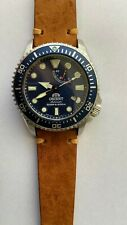 Orient Triton Automatic Sapphire Crystal Blue Dial Watch