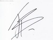JONNY BROWNLEE - Signed White Card - SPORT - TRIATHLON