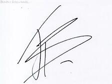 JONNY BROWNLEE - Signed White Card - SPORT - TRIATHLON