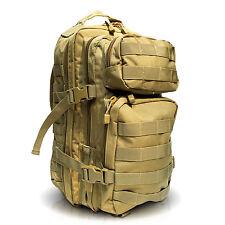 Molle Rucksack Assault Pack Coyote 20 Liter Sport Armee Kampfrucksack Wanderung