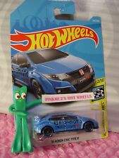 '16 HONDA CIVIC TYPE R #245✰blue;BISIMOTO✰Graphics✰2018 i Hot Wheels WW case L/M
