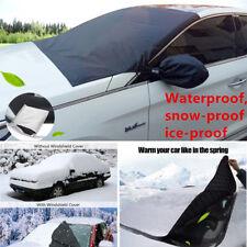 Unique Auto Windshield Snow Sun Cover Ice Frost Removal Mirror Protector Car Kit