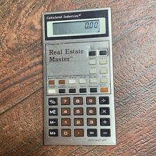 Calculated Industries Real Estate Master Plus Calculator Financial  in case