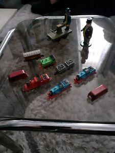 Vintage ERTL Thomas The Tank miniatures job lot 10 items trains and figures l@@k