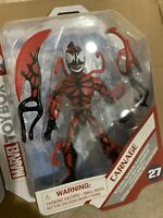 "Disney Store Marvel Toybox CARNAGE 6"" Action New 2021 Parks Spiderman IN HAND"
