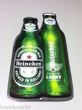 Heineken beer sign Heineken light plastic reflective wall tacker 2010 FP6