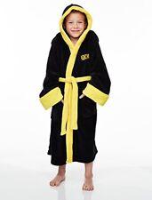 Pyjamas robes noires pour garçon de 2 à 16 ans