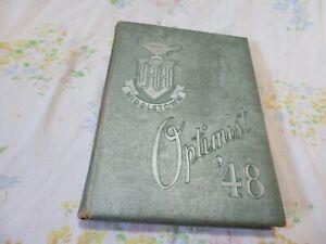 Middletown, Ohio. Middletown High School 1948 Optimist Year Book