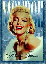 MARILYN MONROE 1993 SPORTS TIME PROMO CARD P SILVER FACSIMILE SIGNATURE