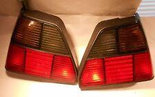 VW Golf MK2 OEM Tail Rear Lights HELLA Color Black Magic