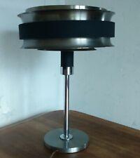 grande lampe des années 50 aluminium et chrome dans le goût de Poul Henningsen
