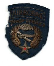 US WW2 NINTH 9TH AIRBORNE TROOP CARRIER COPY OF RARE PATCH ON FELT