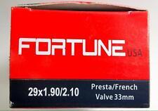 (1) MTB 29x2.10 29x.90 Inner Tube French Presta  Valve 33mm 29er 29 inch Bike