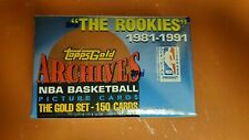 1992-93 Topps Gold Archives Rookies Factory Sealed Basketball Set Michael Jordan