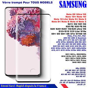 Verre Trempé Samsung A90/A80/A71/A70/A60/A51/A50/A3/A5/A6/A7A9 J3/J5/J4 Plus/J6