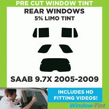 Pre Cut Window Tint - SAAB 9.7X 2005-2009 - 5% Limo Rear