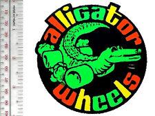 Vintage Skateboarding Bennett Alligator Wheels Skateboard Promo Patch