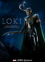 "Sideshow Avengers LOKI 24"" Scale Premium Format Figure Marvel Thor MIB"