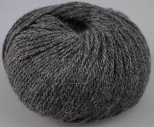Zarela ARAN ***Super Soft*** 100% Luxurious Baby Alpaca Yarn - Dark Grey