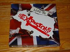 Sex Pistols-Live'76/4-cd-box-set 2016 Comme neuf!