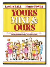 Yours, Mine and Ours (DVD, 2016) Brand New