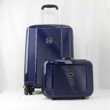 TAG SPECTRUM 2 PIECE HARDSIDE SPINNER CARRY ON LUGGAGE SET BLUE
