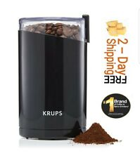 KRUPS F203 Electric Spice & Coffee Grinder with Stainless Steel Blades 3 oz/85 g