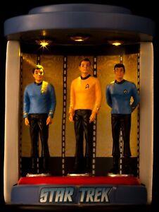 Rare Westland Star Trek Crew in Transporter & Die Cast Enterprise