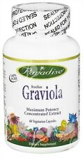 Pure Brazilian Graviola, Concentrated Extract x60Vcap- Soursop / Annona Muricata