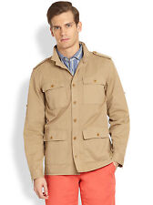 #117  $450 Faconnable 100% Cotton Field Jacket Size L
