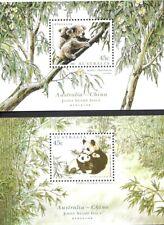 Australia (Scott 1459C/1459D) - 1995 Wildlife - Souvenir Sheets - Mnh