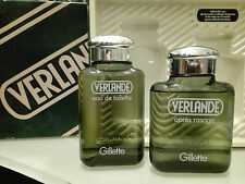 VERLANDE VERT GILLETTE – Vintage Set Eau de Toilette 125 ml. + After Shave 125 m