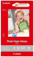 """Canon GP-701 4"""" x 6"""" inch Glossy Photo Paper - 50 Sheets"""