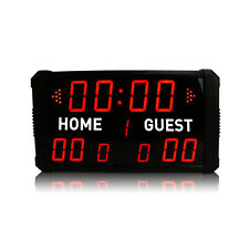 [Ganxin] Portable Led Scoreboard Clock Multisport Digital Electronic Scoreboard