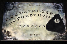 Wooden A4 size Ouija Board & Planchette EVP Spirit Ghost hunt Bizarre magick