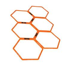 Hexagonal Agility Training Ring Physical Training Football Ladders Speed Rings