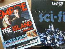 EMPIRE FILM MAGAZINE No 195 SEPTEMBER 2005 THE ISLAND + FREE SCI-FI SUPPLEMENT
