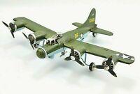 "Vintage Toy Metal Bomber Airplane 14"" Wing Span"