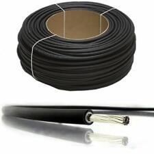 4.0mm PV1-F Negro Solo Cable Solar Fotovoltaica un metro