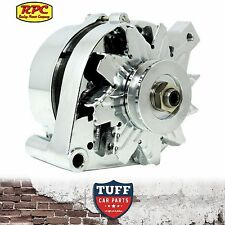 Big Block Ford 429 460 V8 RPC Alternator 100 AMP Chrome External Regulator New