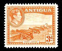ANTIGUA - 1938 - KG VI  - FORT JAMES - # 89 -  MINT - MNH SINGLE!