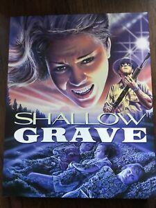Shallow Grave Blu Ray W Slip Vinegar Syndrome Region Free