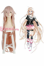 110cm Long Peach Pink Styled Straight Braids VOCALOID 3 IA Cosplay Wig ZY172